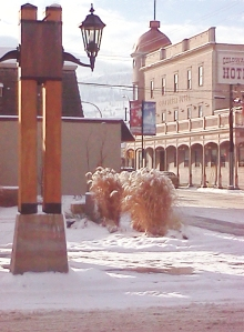 coldwater hotel square winter