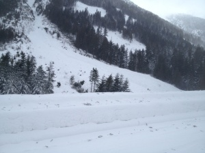 http://globalnews.ca/news/1163067/report-of-large-avalanche-on-coquihalla/