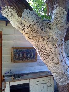 Crochet bombing