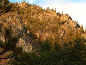Hillside above Nicola Lake