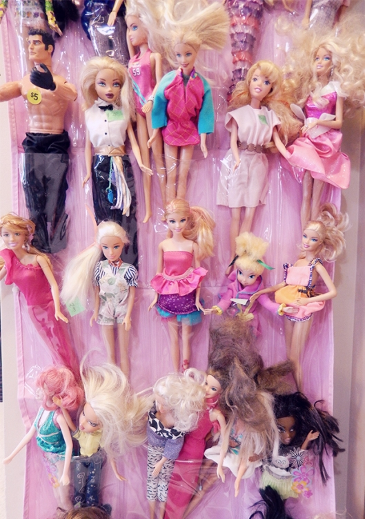 barbies soft pink