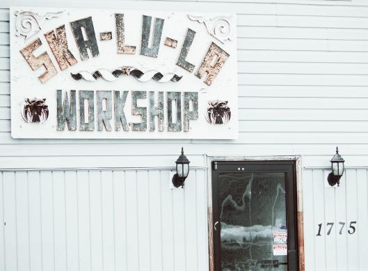 Skalula workshop, Merritt, BC