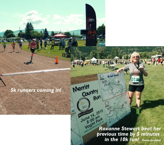 The sixth annual Merritt Country Run drew 283 runners & walkers, just slightly down from last year. It all rolled out under a perfect Nicola Valley day.