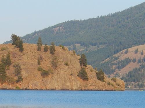 Nicola Lake, last week, after the smoke cleared.