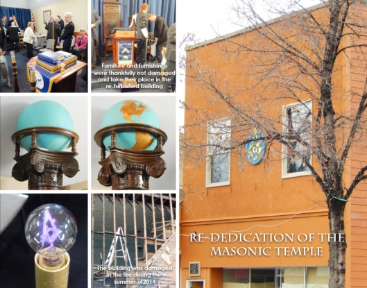 A public ceremony to rededicate the newly refurbished Masonic Temple on Quilchena Ave. meant a rare occasion to see into  long, private traditions.