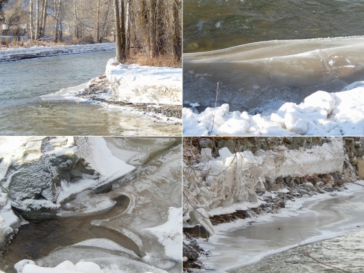 Early spring on the Coldwater River