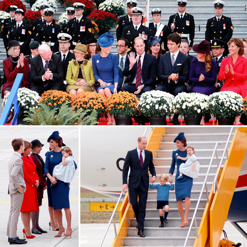 As the Queen's representative in BC, our own Lt. Governor Judith Guichon has special house guests this week. From left: Judy, Governor Gen. David Johnston, Sharon Johnston, Her Royal Highness, The Duchess of Cambridge, His Royal Highness, the Duke of Cambridge, Prime Minister Justin Trudeau, Sophie Gregoire-Trudeau, and Premier Christy Clark.