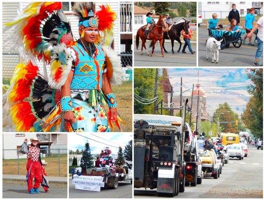 The Rodeo/Fall Fair parade enjoyed sunny weather & happy spectators in lawnchairs along the route on Saturday. Thanks to organizers & participants for bringing back the parade!