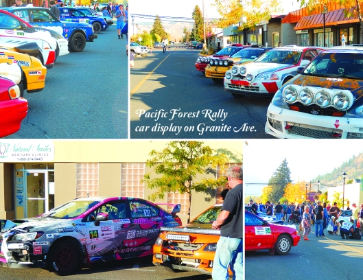 Beautiful Nicola Valley weekend for the 15th year of the Pacific Forest Rally. Great action pics at carsrally.ca