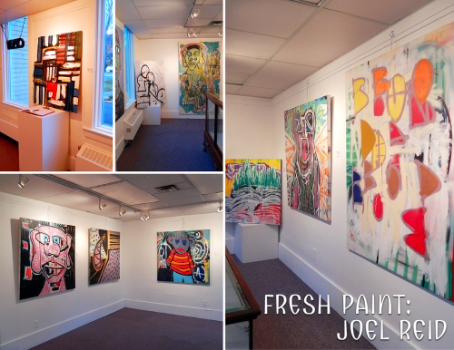 Last chance to see the latest exhibition of Joel Reid's paintings - at the Courthouse Art Gallery.