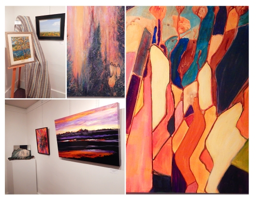 Lots of new art from many local artists, in the Elements: Earth, Wind, Fire & Ice exhibition at the Courthouse Art Gallery